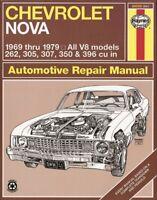 Repair Manual-Custom Haynes 24059 fits 75-78 Chevrolet Nova