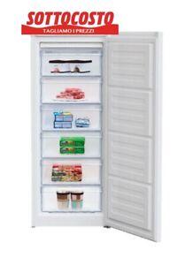 Congelatore Verticale 6 Cassetti Freezer 180 Lt Classe F A+ SILVER Frigorifero