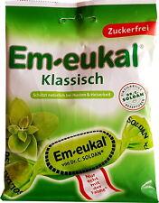 2x Dr.C.Soldan Em-Eukal CLASSIC sugar free cough drops 2.64oz / 75g