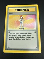 Lass 75/102 RARE Base Set Unlimited Pokemon 1999 WOTC NM