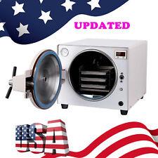 18L Updated Dental Autoclave Steam Sterilizer Medical Sterilization LabEquipment