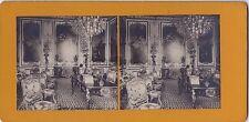 Chantilly la Chambre Photo stéréo Stereoview Vintageargentique