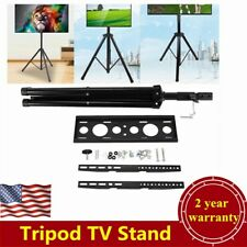 "Adjustable Tripod Tv Stand Television Lcd Flat Panel Monitor Mount 34"" to 50"" Tv"