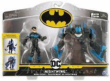 "Spin Master Batman - Nightwing Mega Gear Deluxe 4"" Action Figure & Transforming"