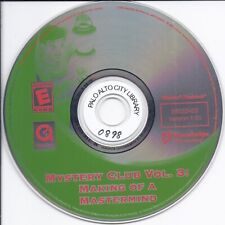 Mystery Club Vol 3 - Making of a Mastermind (Pc & Mac Cd)