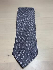 Guaranteed Authentic HERMES Silk Paris Necktie - MADE IN FRANCE 100% 59 X 3 In.