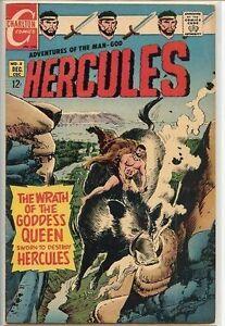 Hercules 1967 series # 8 very good comic book