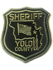 YOLO COUNTY California Police Patch