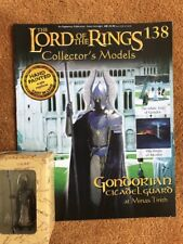 Eaglemoss LOTR Lead Figure 138 Gondorian Citadel Guard Boxed + Magazine