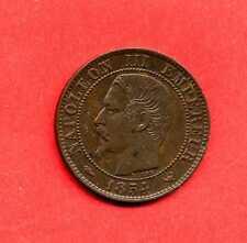 (BR.88) 5 CENTIMES NAPOLÉON III 1854 W LILLE (SUP)