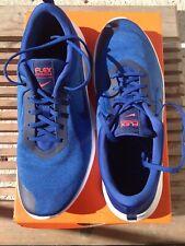 Hombre Zapatillas Nike Flex Run azul gris blanco NI 709022