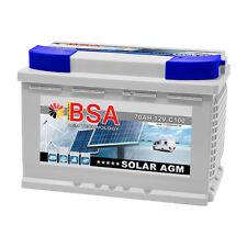 Solarbatterie 70AH 12V AGM GEL USV Batterie Versorgungsbatterie Wohnmobil Boot