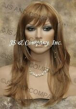 Strawberry BLONDE WIG Gorgeous Straight Choppy Layered swt 27-613