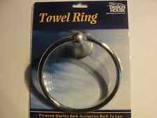 Design House 535328 Towel Ring Sat/Nickel