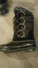 Khombu North Star Women's Waterproof Snow Winter Boots Size 6