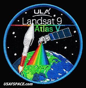 Authentic Landsat 9 - ULA  ATLAS V Launch - NASA USGS USSF SATELLITE SPACE PATCH