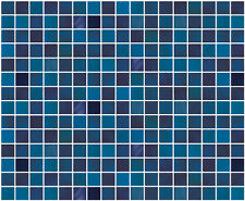 Blue Tile Look Contact Paper Decortive Wallpaper Self Adhesive Peel and Stick