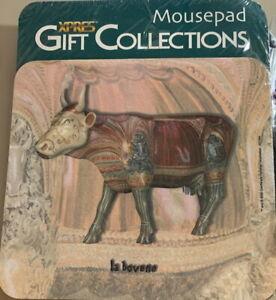 "XPRES Gift Collections COW PARADE 2001 ""LA BOVENE"" Computer Mousepad - NEW!"