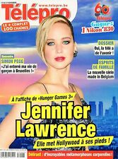 french magazine Télépro N°3167 jennifer lawrence 2014