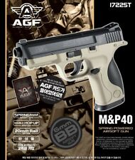 Academy M&P40 TAN Airsoft Pistol BB 6mm Hop Up System