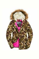 *EXCLUSIVE SALE* NEW RRP£124.99 WOMEN XL SIZE SUPERDRY EVEREST PARKA JACKET CAMO