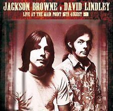 Jackson Browne, David Lindley – Live At The Main Point 15 August 1973 (CD)  NEW
