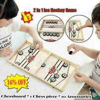 Bouncing Chess Hockey Game , Board Foosball winner Catapult for passtime