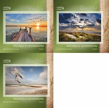 "3 CDs ""Wellness & Entspannung"" (Vol. 1 - 3), Gemafreie Entspannungsmusik, Aktion"