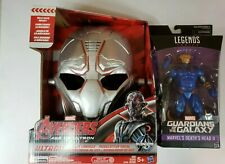 Brand New Marvel Legends Deaths Head And Ultron Voice Changer Mask