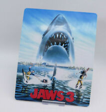 JAWS 3 - Glossy Bluray Steelbook Magnet Cover (NOT LENTICULAR)