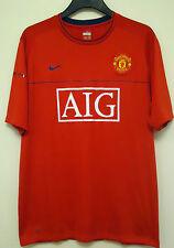 Manchester United Ufficiale Calcio Formazione Camicia Da Nike Taglia L