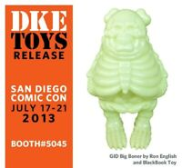 SDCC 2013 Ron English BlackBook Toy Big Boner glow in dark only 50 made