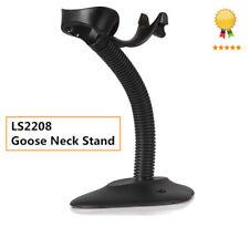 Goose Neck Stand for Barcode Scanner Motorola Symbol LS2208 Dark Gray