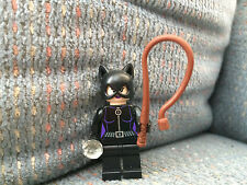 Lego Catwoman Minifigure w/ Whip Batman II DC Super Hereos Jewel from Chase 6858