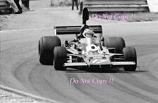 Jean-PIERRE JARIER UOP Shadow DN5 Olandese GRAND PRIX 1975 Fotografia