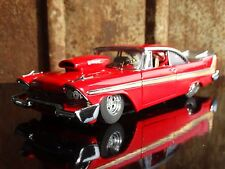 Danbury Mint 1958 Plymouth Fury Pro Street 1:24 Scale Die Cast Model Race Car