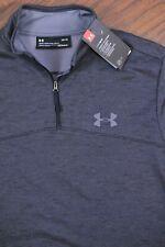 NWT Under Armour Fleece 1/4 Zip Pullover Gray Heather Men's Large L