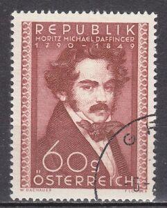 AUSTRIA used 1950 SC# Nr 570  Michael Daffinger - Painter