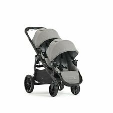 Baby Jogger City Select Lux Tandem Twin Double Stroller with 2nd Seat, Slate