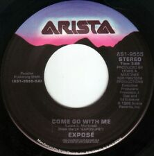 EXPOSE' Come Go With Me ((**NEAR MINT 45 from 1986**))