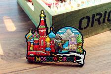Russia Moscow Circus Tourist Travel Souvenir 3D Rubber Fridge Magnet GIFT IDEA