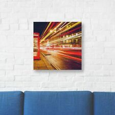 """London Printed Canvas Art 10"""" (25cm) x 10"""" (25cm) Beautiful For Home"""