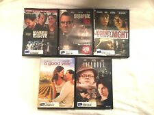 DVD Lot of 5 Rental Movies Five Different Films Separate Lies Good Year   DVDL12