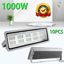 10 X 1000W LED Flood Light Security Cool White Outdoor Lamp Floodlight IP65 240V
