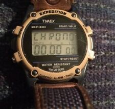 Men's Timex Expedition Chronograph Watch W.R. 100M Blue Fabric Band