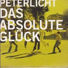 PETER LICHT - das absolute glück  - 1  Track  PAPERSLEEVE CD