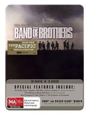 Band Of Brothers (DVD, 2010, 6-Disc Set) Tin Set Edition