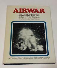 Airwar Terror From the Sky/Tragic Victories Vol 1 Jablonski HC/DJ 1971 WWII