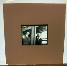 BEATLES 1964-HARD DAY'S NIGHT- 35mm TRANSPARENCY*GEORGE & RINGO ON TRAIN  4306