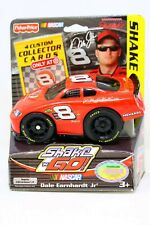 New Fisher Price Shake N Go Dale Earnhardt Jr #8 4 Custom Collector Cards Target